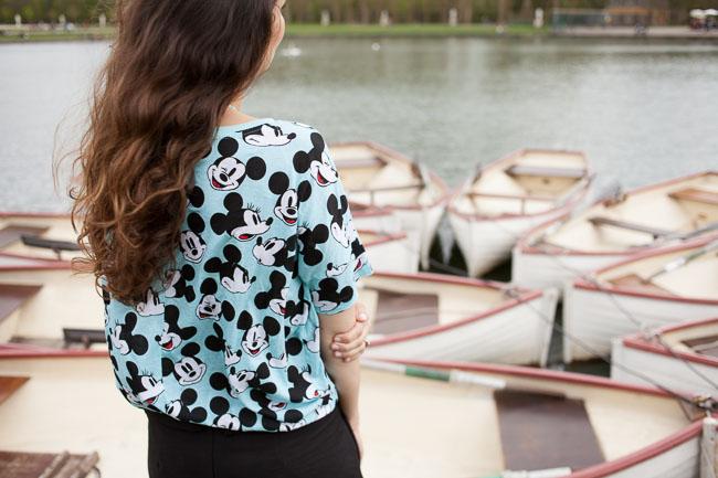 Mickey au château de Versailles