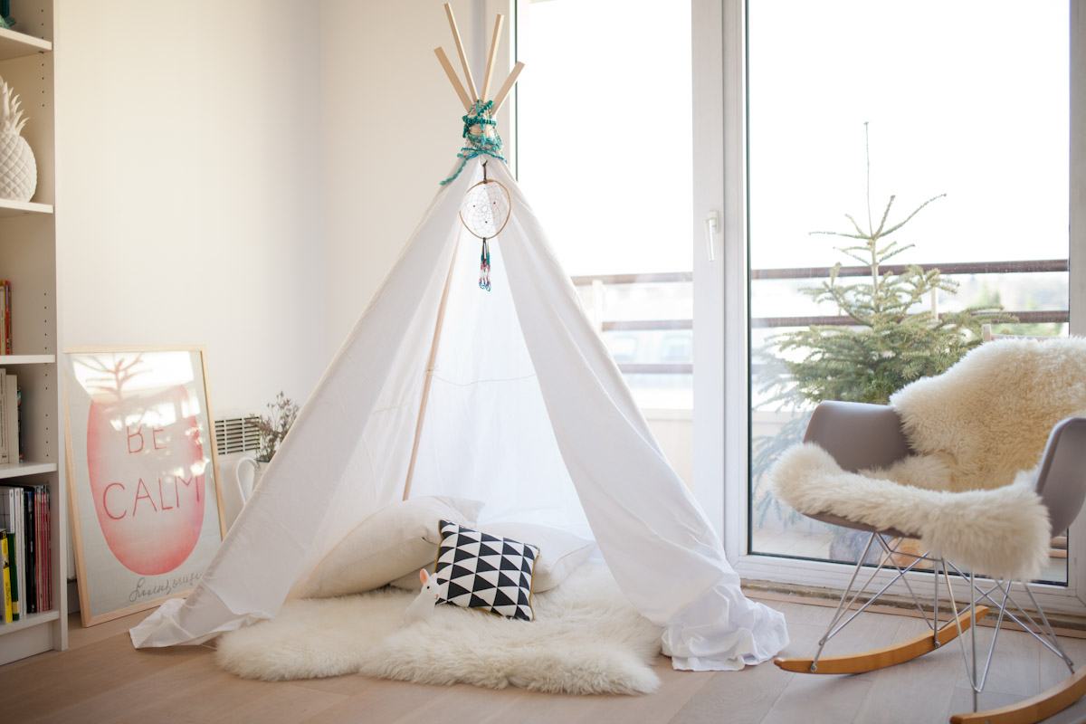 Mon tipi #diy - A Sunday Morning